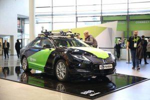 Какие автомобили на базе искусственного интеллекта NVIDIA показывала на GTC?
