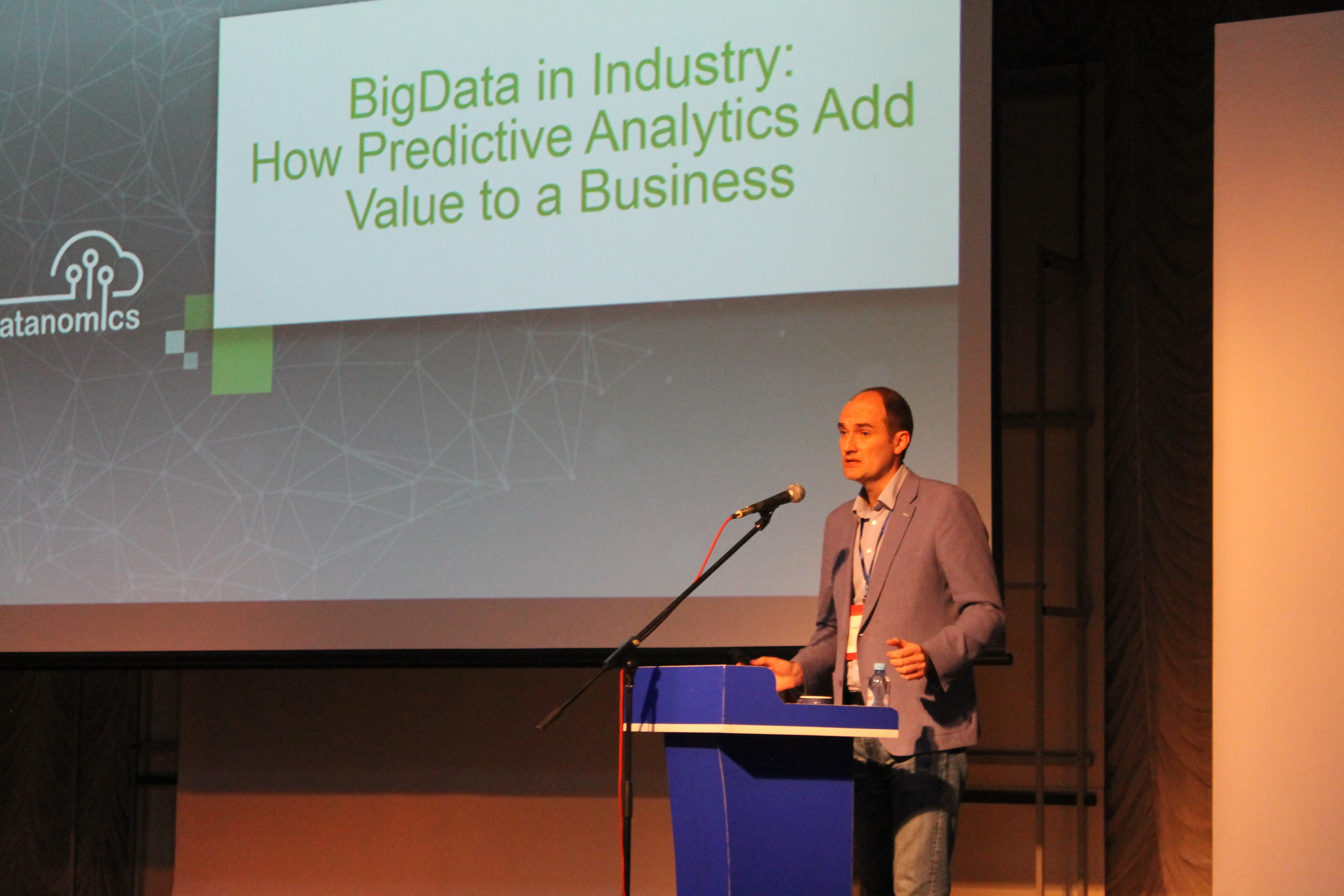"Datanomics выступил на международной конференции IEEE ""Industrial Cyber-Physical Systems (ICPS-2018)"