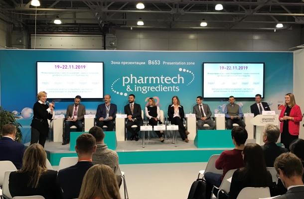 Datanomics spoke at the international Pharmtech & Ingredients exhibition