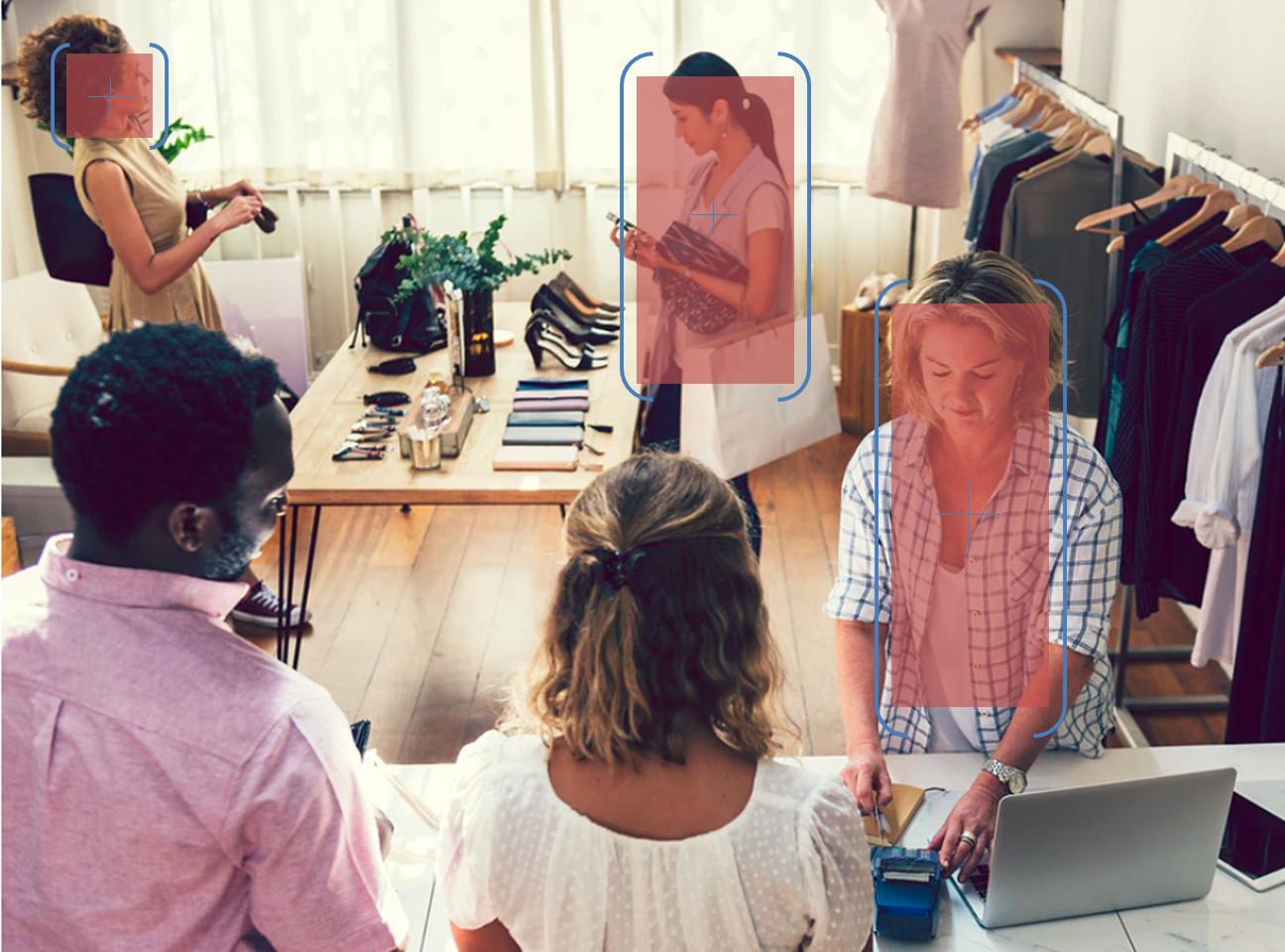 Компьютерное зрение для детектирования людей и идентификации персонала в торговом зале